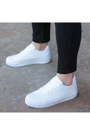 öz taha Beyaz Unisex Spor Ayakkabı 2