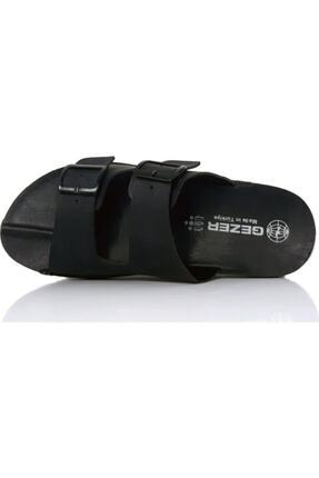 Gezer 12972 Tokalı Siyah Erkek Terlik Ev Terliği 0