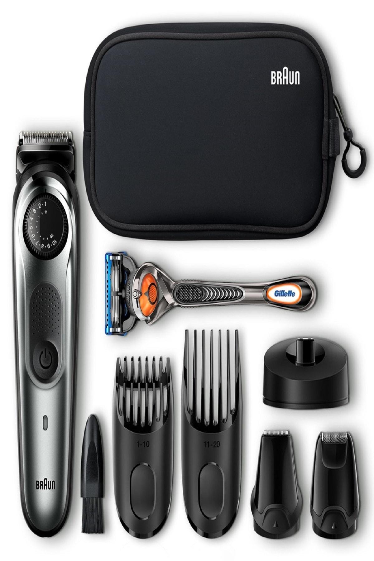 Bt 7940 Saç/sakal Kesme-ıslak/kuru-çanta+gillette Hediye