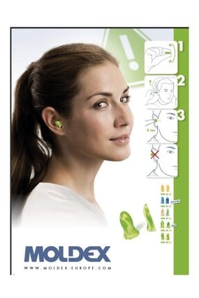 MOLDEX Uyku Kulak Tıkacı Ders Çalışma Tıkaç 7802 - 4 Çift 2