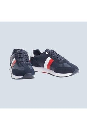 Tommy Hilfiger Corporate Leather Flag Runner 0