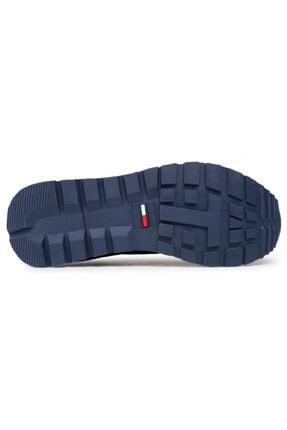 Tommy Hilfiger Erkek Sneaker TOMMY JEANS LIFESTYLE MIX RUNNER EM0EM00668 4