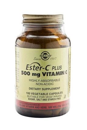 Solgar Ester-c 500 Mg 100 Kapsül 0