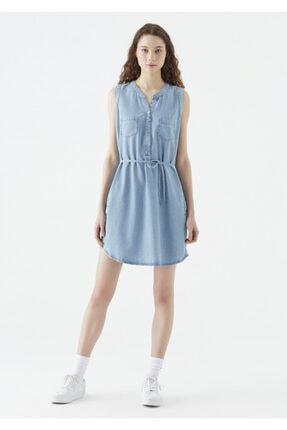 Mavi Suzy Lux Touch Lyocell Denim Elbise 2