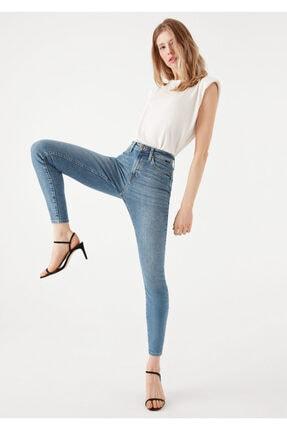 Mavi Serenay Gold Shape Jean Pantolon 2