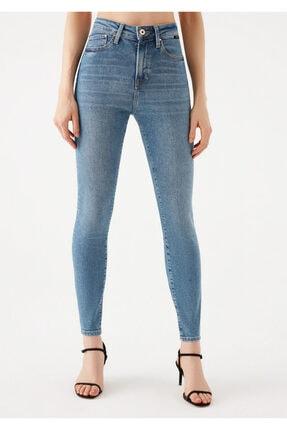 Mavi Serenay Gold Shape Jean Pantolon 3