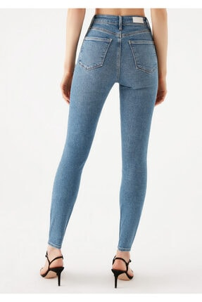 Mavi Serenay Gold Shape Jean Pantolon 4
