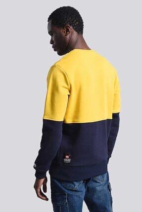 Ecko Unltd Logo Sweat 2 Sarı Erkek Baskılı Bisiklet Yaka Sweatshirt 1