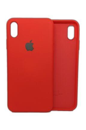 Ebotek Iphone Xs Max Kılıf Silikon Içi Kadife Lansman Kırmızı 0