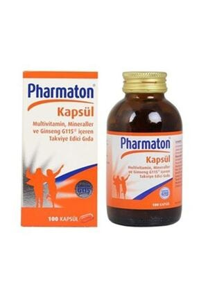 Pharmaton 100 Kapsül Multivitamin 0