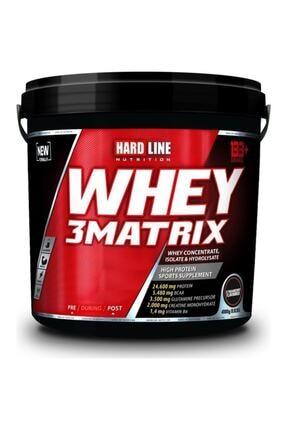 Hardline Whey 3matrix 4000 gr - Çilek Aromalı 0
