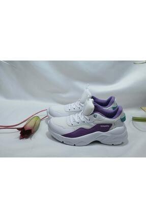 Kinetix AURA MESH W 1FX Beyaz Kadın Sneaker Ayakkabı 100662629 2