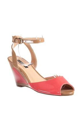 Picture of Açık Kırmızı Kadın Dolgu Topuklu Ayakkabı 120115960210
