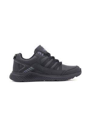 Jump 25932 Erkek Siyah Mevsimlik Ortopedi Spor Ayakkabı 1