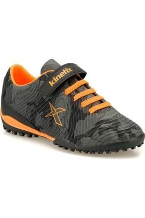 Kinetix Erkek Çocuk Siyah Agron J Camo Turf Halı Saha Ayakkabısı 0
