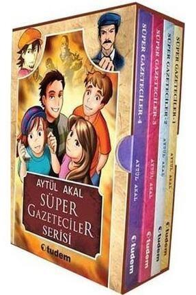 Tudem Yayınları Süper Gazeteciler Serisi Seti 4 Kitap 0