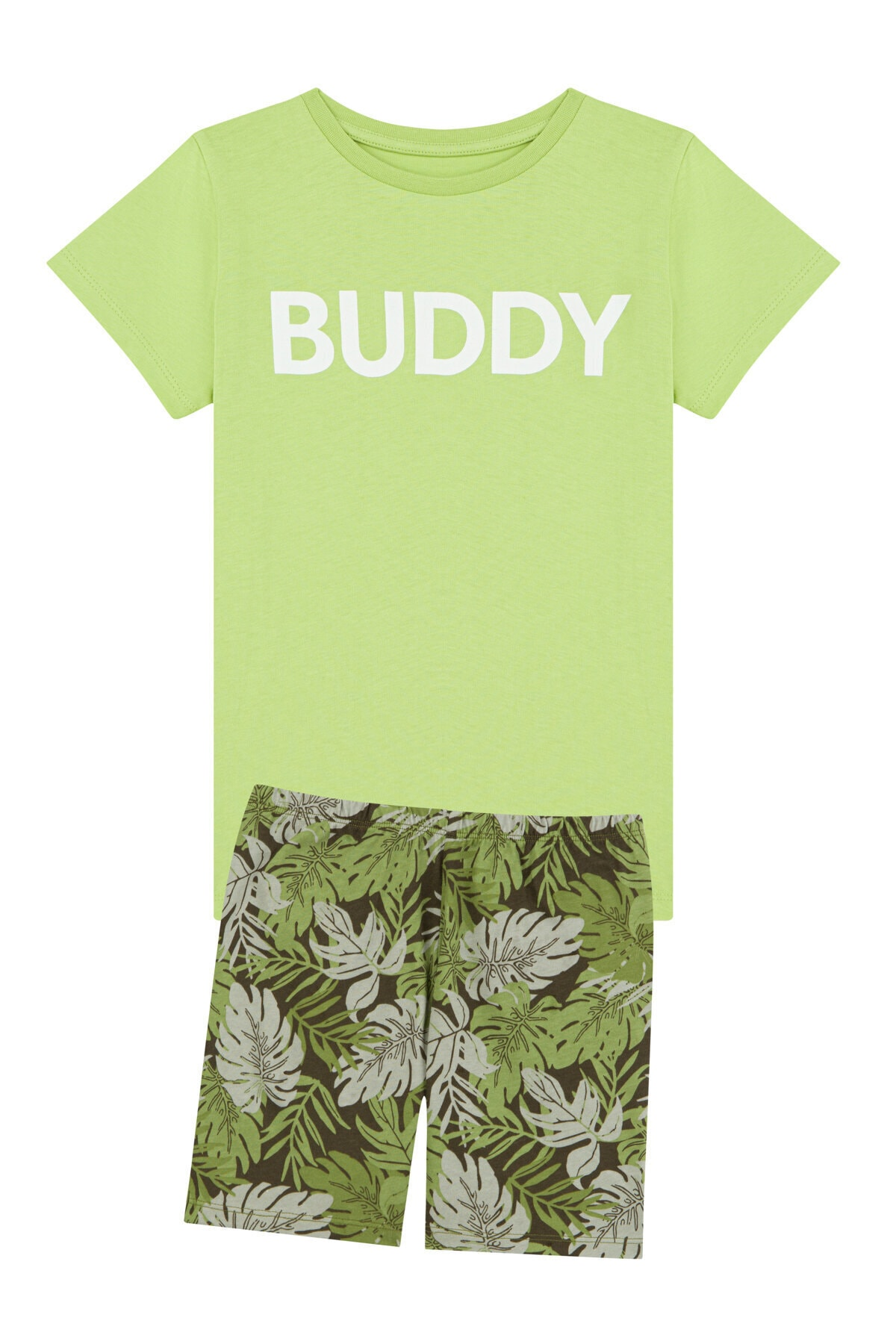 Penti Çok Renkli Erkek Çocuk Buddy  2Li Pijama Takımı