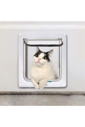 Mixpet 4 Yönlü Kilitlenebilir Yavru Köpek Ve Kedi Kapısı 23x25 Cm 1
