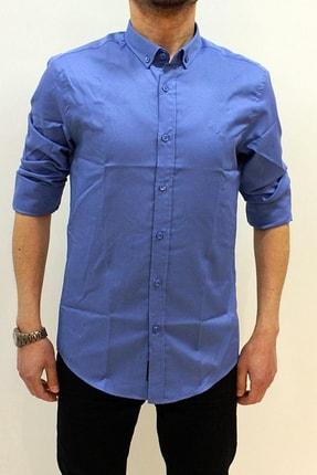 Erkek Düz Oxford Gömlek 2059 GOMLEK