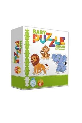 Circle Toys Baby Puzzle Orman Hayvanları 0
