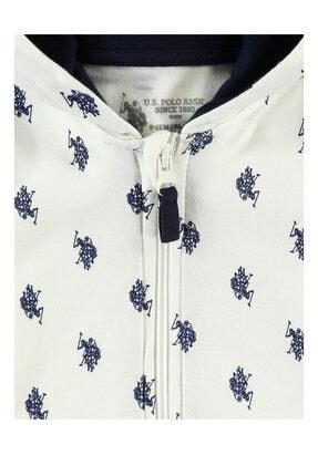 US Polo Assn Unisex Bebek Bej Krem Sweatshirt 2