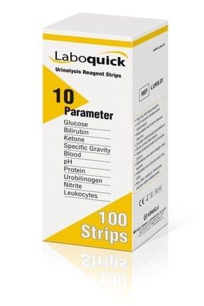 Laboquick Keton Çubuğu İdrar Stribi 100lü Kutu 10 Parametre 0