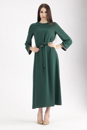 Kadın Zümrüt Tesettür Elbise 0104003