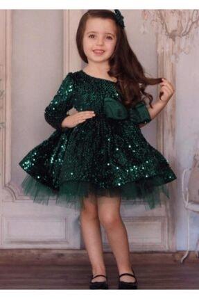 Riccotarz Kız Çocuk New Zümrüt Princess Abiye 0