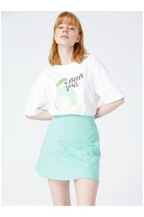 Kadın Yeşil Etek 505698329