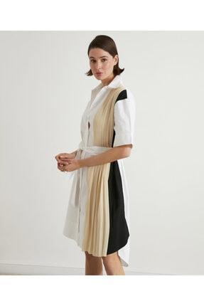 İpekyol Pilise Mixli Koton Elbise 0