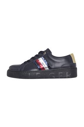 Tommy Hilfiger Kadın Lacivert Sneaker FW0FW03704 0