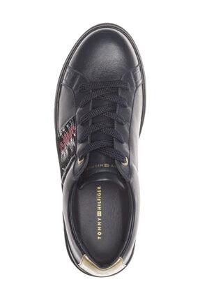 Tommy Hilfiger Kadın Lacivert Sneaker FW0FW03704 2