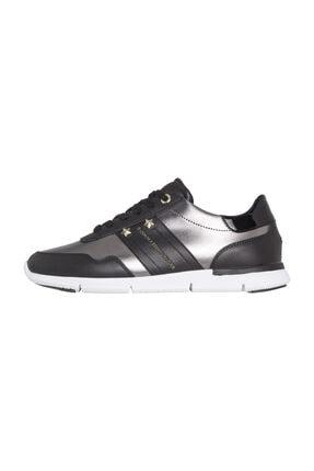 Tommy Hilfiger Kadın Siyah Sneaker FW0FW03688 0