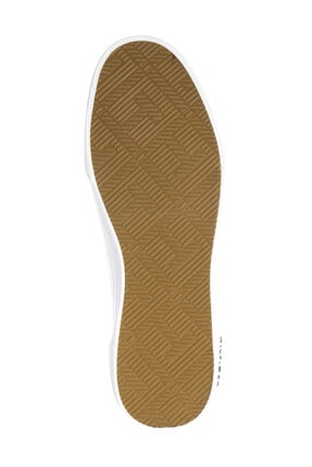 Tommy Hilfiger Erkek Beyaz Casual Ayakkabı Core Corporate Deri Sneaker FM0FM00552 3