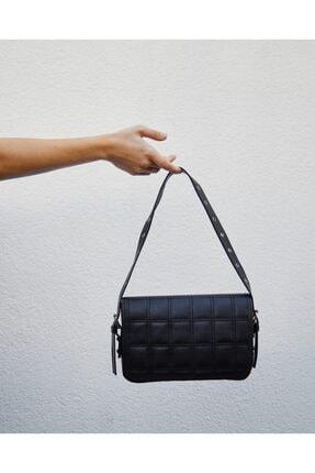Shule Bags Kapaklı Baget Çanta Orse Siyah 4