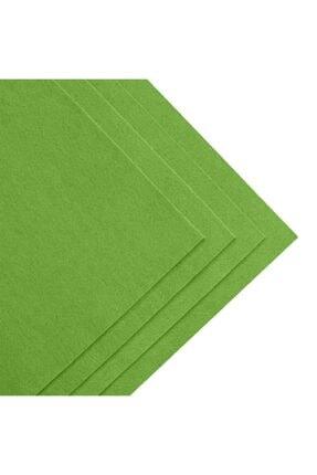 toptankece Kalın Keçe 50x50 Cm Yeşil Tonlar 3 Renk 2