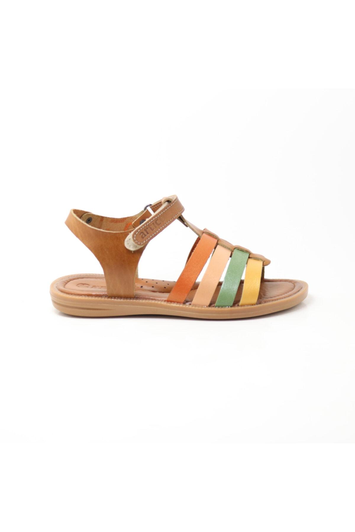 Bellini Deri Çocuk Sandalet