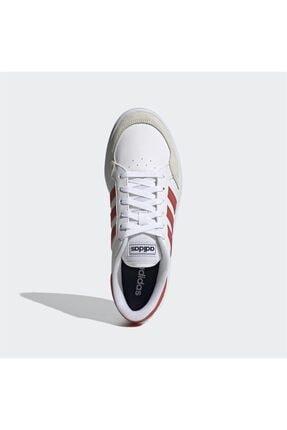 adidas Erkek Beyaz Bağcıklı Günlük Spor Ayakkabı Breaknet 1