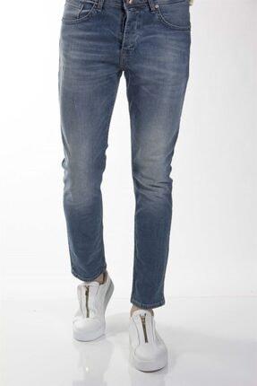 Erkek Normal Bel Dar Paça Green Blue Jean Pantolon TYC00053282632