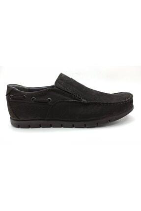 ARTMEN Plus Serisi Hakiki Nubuk Deri Makosen Erkek Siyah Günlük Ayakkabı 0