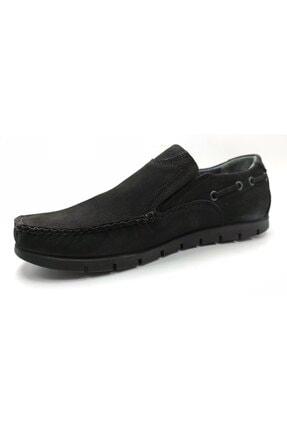 ARTMEN Plus Serisi Hakiki Nubuk Deri Makosen Erkek Siyah Günlük Ayakkabı 2