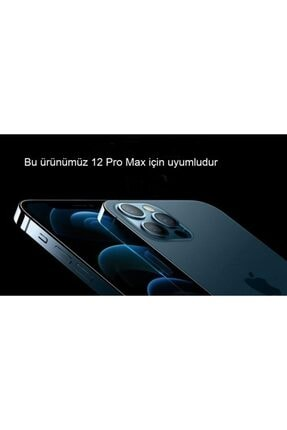Pirok Store Iphone 12 Promax 6.7 Lacivert Lansman Içi Kadife Logolu Silikon Kılıf 3