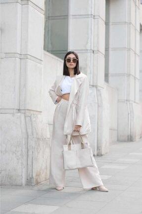 Shule Bags Kadın Everyday Bag Milano Krem 0