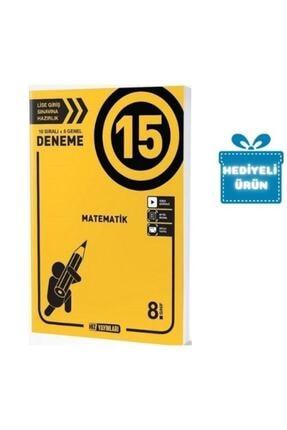 Hız Yayınları Hız 8.sınıf Matematik 15 Li Deneme 10 Sıralı+5 Genel 0
