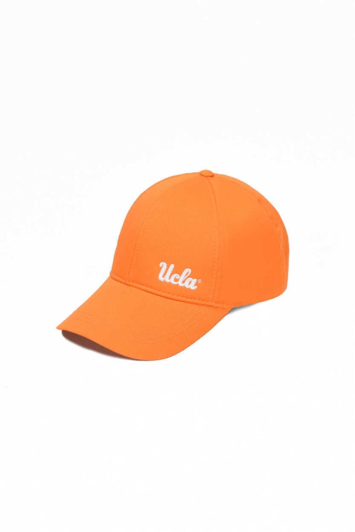 Jenner Turuncu Baseball Cap Nakışlı Şapka