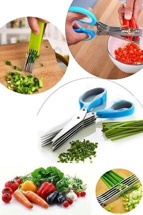 Nova Casa Çoklu Doğrama Makası, Sebze Makası, Sebze Meyve Kesme Doğrama Makası 1
