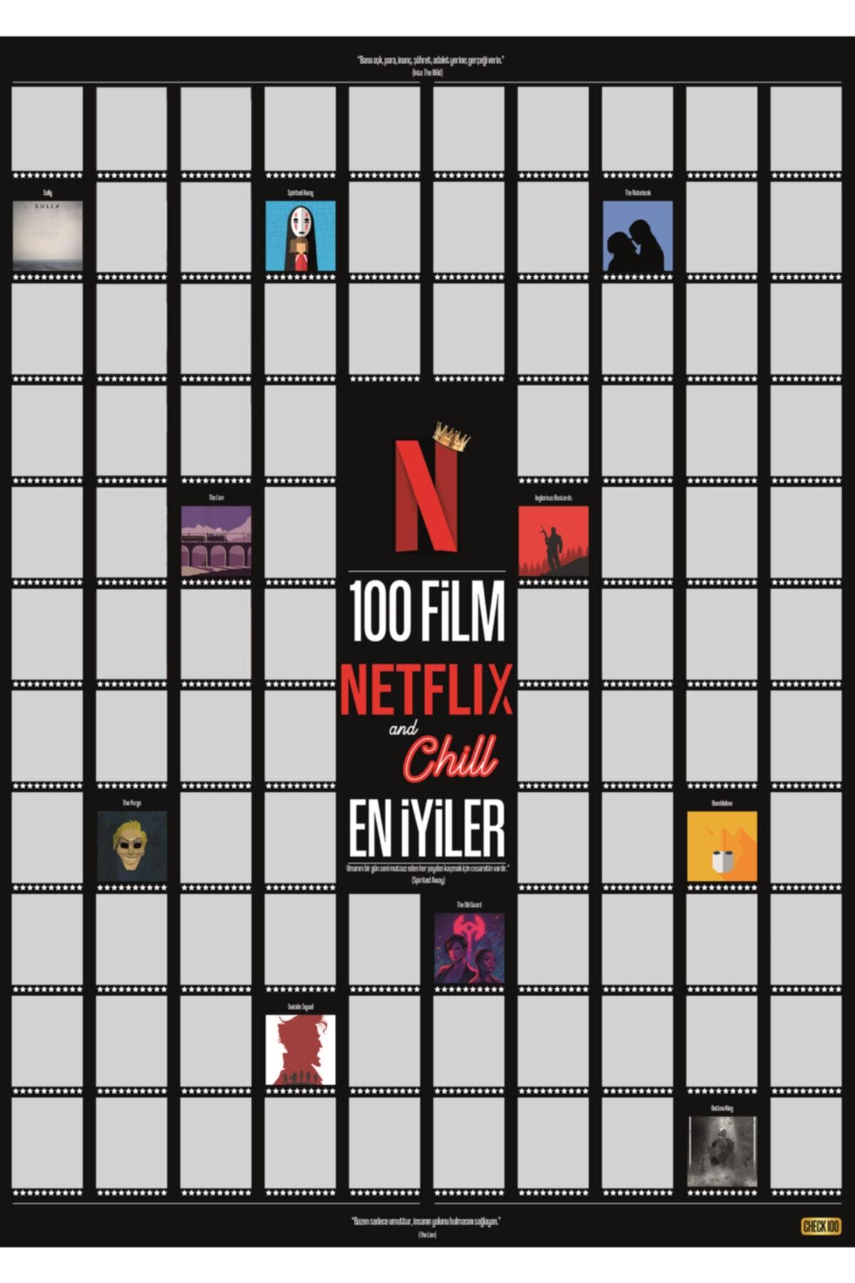 Netflix And Chill 100 Film En Iyiler Kazıkazan Poster
