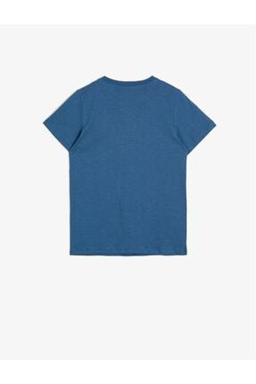Koton Erkek Çocuk Mavi Tişört 1