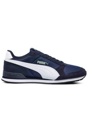 Puma St Runner V2 Mesh Pembe Beyaz Kadın Sneaker Ayakkabı 100415833 0