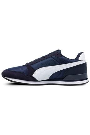 Puma St Runner V2 Mesh Pembe Beyaz Kadın Sneaker Ayakkabı 100415833 1